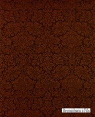 Brunschwig And Fils - Soubise Damask - Coffee  | Upholstery Fabric - Brown, Damask, Natural Fibre, Traditional, Natural, Standard Width