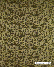Brunschwig And Fils - Scattered Squares Figured Woven - Chartreuse  | Upholstery Fabric - Geometric, Midcentury, Synthetic, Standard Width