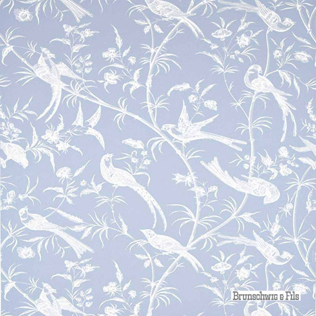 Brunschwig And Fils Bengali Periwinkle