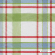 Brunschwig And Fils - Beaufort Taffeta Plaid - Grass  | Upholstery Fabric - Check, Synthetic, Traditional, Standard Width