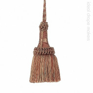 IDM - Exquisite Key Tassel 1921-00 _8822 Ginger Megs    Key Tassel, Curtain & Upholstery, Trim - Gold,  Yellow, Terracotta, Tan, Taupe, Traditional, Domestic Use