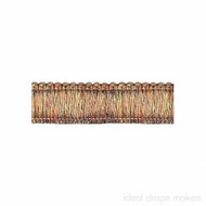IDM - Exquisite Brush Fringe 1111_8815 Cinnamon Story  | Fringe, Curtain & Upholstery Trim - Brown, Tan, Taupe, Traditional, Domestic Use