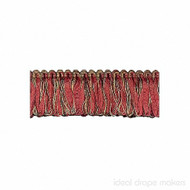 IDM - Exquisite Organdy Loop Fringe 1789_7112 Cherrywood  | Fringe, Curtain & Upholstery Trim - Brown, Burgundy, Gold,  Yellow, Traditional, Domestic Use