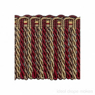 IDM - Exquisite Bullion Fringe 1767_7112 Cherrywood  | Fringe, Curtain & Upholstery Trim - Brown, Burgundy, Gold,  Yellow, Traditional, Domestic Use