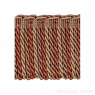 IDM - Exquisite Bullion Fringe 1767_8822 Ginger Megs  | Fringe, Curtain & Upholstery Trim - Gold,  Yellow, Terracotta, Tan, Taupe, Traditional, Domestic Use