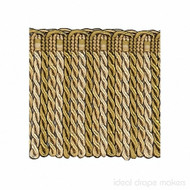 IDM - Exquisite Bullion Fringe 1767_7633 Gold Storm  | Fringe, Curtain & Upholstery Trim - Gold,  Yellow, Tan, Taupe, Traditional, Domestic Use