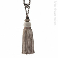 IDM - The Cotswolds Tie Back BI030 _14 Quicksilver  | Tie back, Curtain Accessory - Beige, Brown, White, Traditional, Domestic Use, White