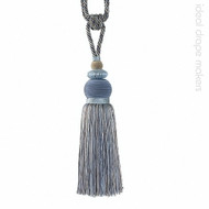 IDM - The Cotswolds Tie Back BI030 _6 Sky  | Tie back, Curtain Accessory - Beige, Blue, Grey, Traditional, Domestic Use