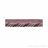 IDM - The Cotswolds Flanged Cord BI300 _1 Plum  | Flange Cord, Trim - Pink, Purple, Traditional, Domestic Use