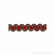 IDM - Essential Gimps CS200 _182 Burgandy & Gold  | Gimps & Braids, Curtain & Upholstery Trim - Burgundy, Gold,  Yellow, Traditional, Domestic Use