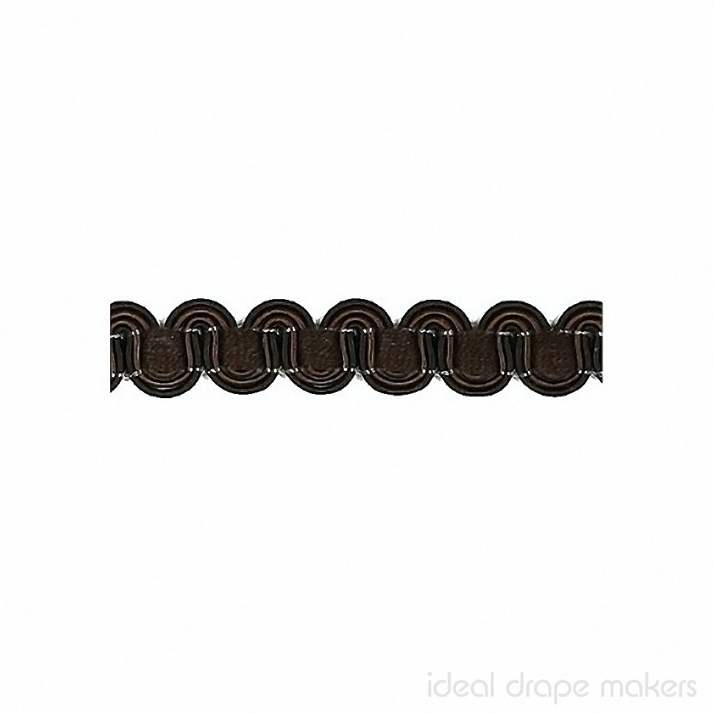 IDM - Essential Gimps CS200 _190 Brown  | Gimps & Braids, Curtain & Upholstery Trim - Brown, Traditional, Domestic Use