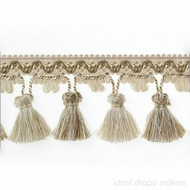 IDM - Botticelli Tassel Fringe 1825_401 Caramel  | Fringe, Curtain & Upholstery Trim - Brown, Tan, Taupe, Traditional, Domestic Use