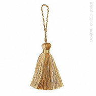 IDM - Amazonas Key Tassel 3308-00 _1515 Gold  | Key Tassel, Curtain & Upholstery, Trim - Gold,  Yellow, Traditional, Domestic Use