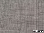 Nettex Grange Pebble MG39  | Curtain Fabric - Brown, Plain, Silver, Fibre Blends, Uncoated, Domestic Use, Standard Width, Strie