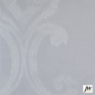 JW Design - Intrigue Ivory Sheer 300cm  | Curtain Sheer Fabric - Fire Retardant, White, Contemporary, Modern, Pattern, Synthetic, Washable, Domestic Use, White, Wide Width