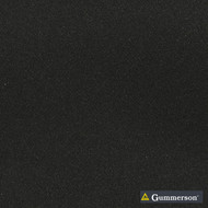Gummerson - Continuous-Softweave Onyx Room-Darkening 290cm  | Curtain Fabric - Fire Retardant, Plain, Black - Charcoal, Synthetic, Washable, Weave, Domestic Use, Softweave