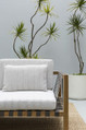 The quality outdoor use upholstery fabrics from the Madura design style range by Mokum