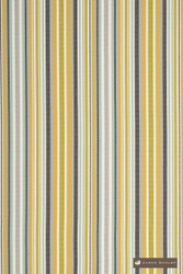 James Dunlop Bahamas - Pina Colada  | Upholstery Fabric - Stain Repellent, Gold,  Yellow, Outdoor Use, Stripe, Synthetic, Traditional, Washable, Bacteria Resistant, Dry Clean
