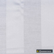 Gummerson - Valencia Alabaster Uncoated 150cm  | Curtain Fabric - Fire Retardant, White, Contemporary, Modern, Stripe, Synthetic, Traditional, Uncoated, Washable, White