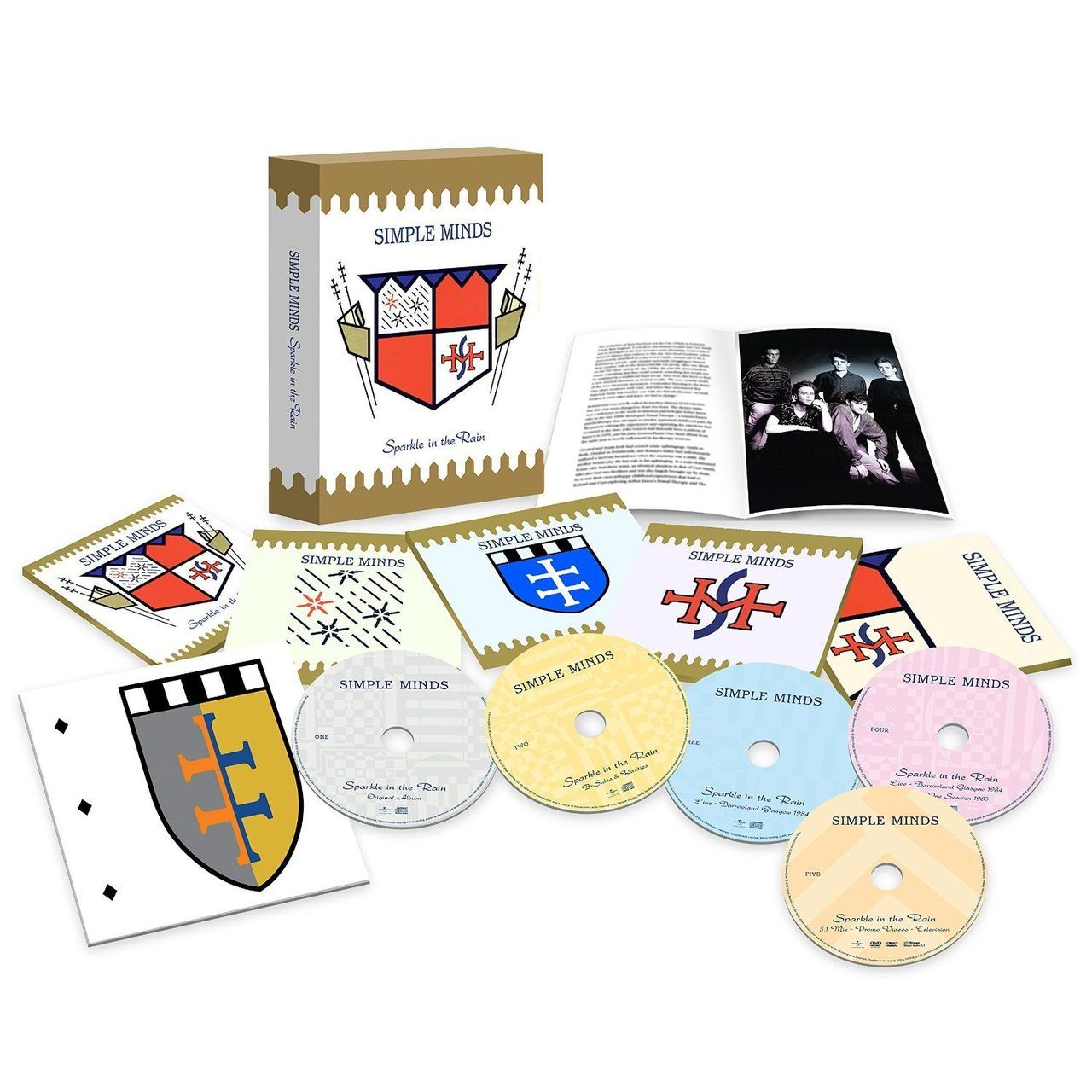 Simple Minds - Sparkle In The Rain  CD Box Set