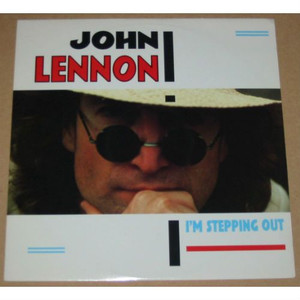 "JOHN LENNON - I'm Stepping Out (12"" Vinyl Single)"