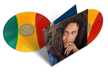BOB MARLEY & THE WAILERS Legend 2014 UK red yellow & green vinyl 2LP SEALED/NEW