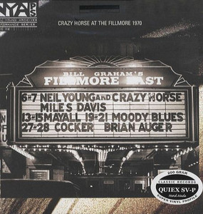 NEIL YOUNG - Live At The Fillmore East (Vinyl LP)