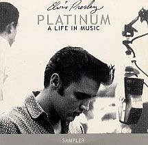"ELVIS PRESLEY - Platinum: A Life In Music - Sampler (5"" CD SINGLE)"