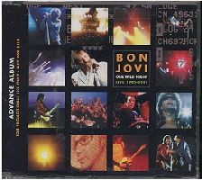 BON JOVI - One Wild Night Live 1985-2001 (CD ALBUM)