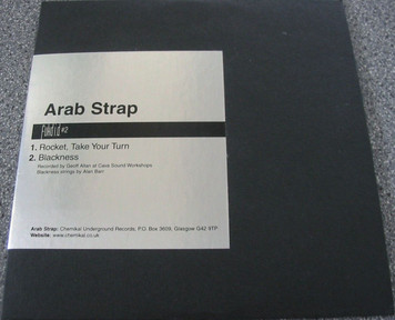 "ARAB STRAP - Fukd I.D. #2 (5"" CD SINGLE)"