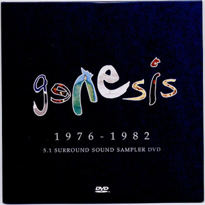 GENESIS - 1976-1982 5.1 Surround Sound Sampler (DVD)