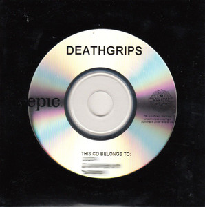 DEATH GRIPS The Money Store CD-R