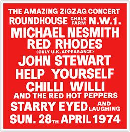 AMAZING ZIGZAG CONCERT 2010 5-CD LTD Box Set Mike Nesmith Help Yourself