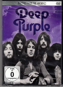 DEEP PURPLE Masters From The Archives All Region DVD NEW/SEALED