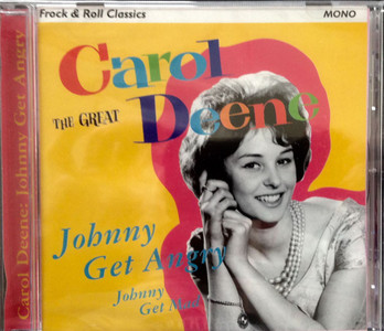 CAROLE DEEN Johnny Get Angry 1996 UK CD NEW/SEALED