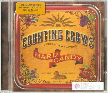 COUNTING CROWS Hard Candy CD UK 2002 NEW/UNPLAYED Bonus Tracks