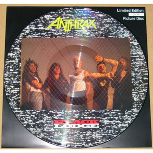 """ANTHRAX - Black Lodge (12"""" Picture Disc)"""