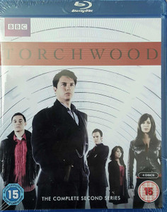 TORCHWOOD The Complete Second Series 2011 Blu-Ray box set SEALED/NEW