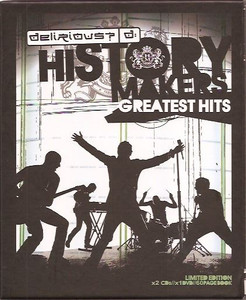 DELIRIOUS? History Makers - Greatest Hits 2009 2-CD/1-DVD + Book NEW/SEALED