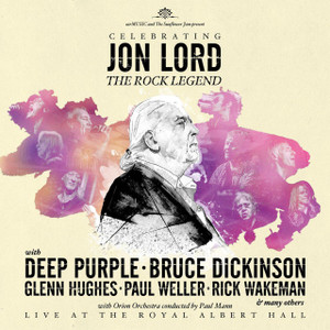 Celebrating JON LORD The Rock Legend 2014 2CD NEW/SEALED Deep Purple Dickinson