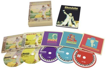 ELTON JOHN Goodbye Yellow Brick Road 2014 Deluxe 4-CD/DVD Box Set NEW/SEALED