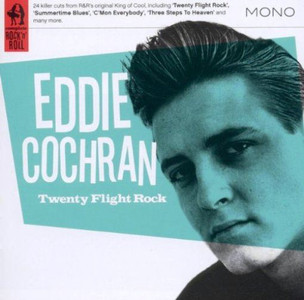 EDDIE COCHRAN Twenty Flight Rock 2011 24-track Compilation CD NEW / SEALED