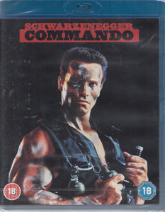 COMMANDO 2010 Region B Blu-ray NEW / SEALED Arnold Schwarzenegger