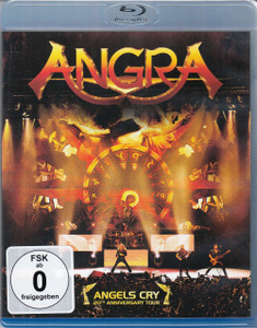 ANGRA Angels Cry 20th Anniversary Tour 2013 Blu-ray NEW/SEALED Viper Tarja