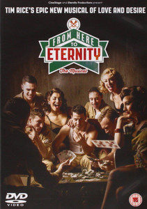 FROM HERE TO ETERNITY: THE MUSICAL 2014 DVD NEW / SEALED Tim Rice Stuart Brayson