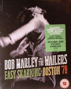 BOB MARLEY & THE WAILERS Easy Skanking In Boston'78 2015 CD + Blu-ray NEW/SEALED