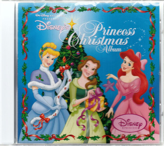 DISNEY'S PRINCESS CHRISTMAS ALBUM 2005 14-track CD NEW/SEALED