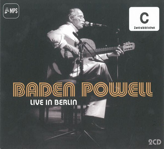 BADEN POWELL Live In Berlin 2015 16-track 2-CD digipak set NEW/SEALED