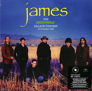 JAMES The Greenpeace Palace Concert 2016 RSD 12-track 180g vinyl 2LP NEW/SEALED
