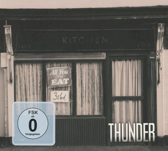 THUNDER All You Can Eat 2016 28-track digipak 2CD + DVD live albums NEW/SEALED